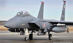 "Американски изтребител - USAF F-15E ""Seymour Johnson"" - Сглобяем авиомодел -"