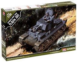 Немски танк - Pz. Kptw. 35(t) - Сглобяем модел -