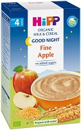 "Инстантна био млечна каша ""Лека нощ"" - Мека ябълка - Опаковка от 250 g за бебета над 4 месеца - продукт"