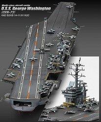 Самолетоносач - USS George Washington (CVN-73) - Сглобяем модел -