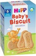 Бебешки био бисквитки - Опаковка от 150 g за бебета над 6 месеца - шише