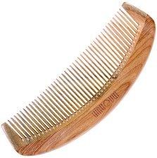 """Гребен за коса от гваяково дърво - От серията """"Natural"""" - тоалетно мляко"""