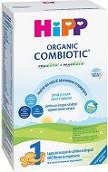 Био мляко за кърмачета - HiPP 1 Combiotic - Опаковки от 300 g или 800 g за бебета от момента на раждането - залъгалка