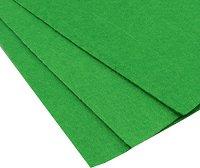 Филц - тревисто зелен - Размери 20 x 30 cm