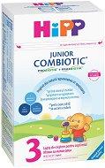 Мляко за малки деца - HiPP 3 Combiotic JUNIOR - Опаковка от 500 g за деца от 1 година -