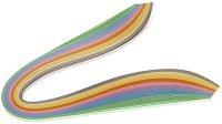 Квилинг ленти - Пастелни цветове - Комплект от 200 броя с плътност 90 g/m : 2 :