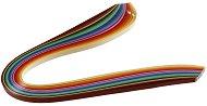 Квилинг ленти - Дъга - Комплект от 100 броя с плътност 130 g/m : 2 :