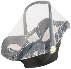 Мрежа против комари - Аксесоар за бебешко кошче за кола -