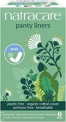 Natracare Panty Liners Mini - Ежедневни дамски превръзки в опаковка от 30 броя - крем