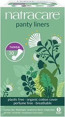 Natracare Panty Liners Tanga - Ежедневни дамски превръзки в опаковка от 30 броя - дамски превръзки