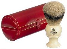 Четка за бръснене с косъм от язовец -