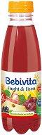 Сок от червени плодове със съдържание на желязо - Шише от 500 ml за бебета над 6 месеца - продукт