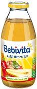 Сок от ябълки и круши - Шише от 200 ml за бебета над 4 месеца - залъгалка