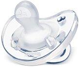 """Физиологична силиконова залъгалка - За бебета от 0 до 6 месеца от серия """"Physio Soft"""" -"""