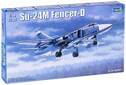 Съветски изтребител - Su-24M Fencer-D - Сглобяем модел - макет