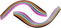 Квилинг ленти - различни цветове - Комплект от 280 броя