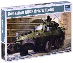 Канадски бронетранспортьор - AVGP Grizzly (късна версия) - Сглобяем модел -