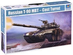 Руски танк - T-90 MBT - Сглобяем модел - макет