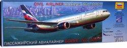 Пътнически самолет - Boeing 767-300 - Сглобяем авиомодел -