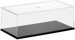 Пластмасова кутия с прозрачен капак - Аксесоар за съхранение на модели и макети -