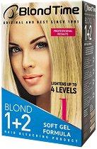 """Blond Time 1 Blond 1+2 - Изрусител за коса от серията """"Blond Time"""" - балсам"""