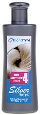 Blond Time Silver Shampoo with Anti-Yellow Effect - лак