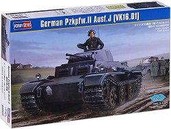 Танк - PzKpfw. II Ausf.J (VK16.01) - Сглобяем модел -