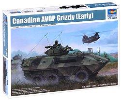 Канадски бронетранспортьор - AVGP Grizzly (ранна версия) - Сглобяем модел - макет