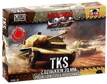 """Полски танк - TKS 20 mm - Сглобяем модел от серията """"Септември 1939"""" - макет"""