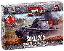 "Немски танк - SdKfz 265 Panzerbefehlswagen - Сглобяем модел от серията ""Септември 1939"" -"