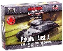 """Немски танк - Panzerkampfwagen I Ausf. A - Сглобяем модел от серията """"Септември 1939"""" -"""