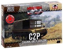 """Полски артилерийски влекач - C2P - Сглобяем модел от серията """"Септември 1939"""" -"""