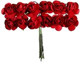 Декоративен елемент - Червени цветя