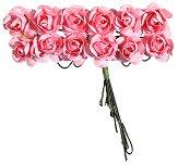 Декоративен елемент - Розови цветя