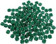 Мъниста - Зелени детелини - Опаковка от 50 g