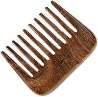 """Афро гребен за коса от гваяково дърво - От серията """"Natural"""" - продукт"""