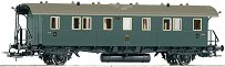 Саксонски пътнически вагон DiSa09 - Трета класа - ЖП модел - релса