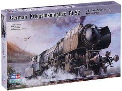 Немски парен локомотив - Br 52 - Сглобяем модел - макет