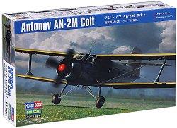 Военен самолет - Antonov AN-2M Colt - Сглобяем авиомодел -