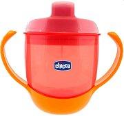 Неразливаща се преходна чаша с твърд накрайник 3 в 1 - 180 ml - За бебета над 12 месеца -