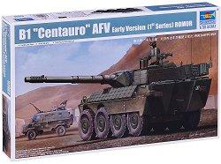 """Италиански бронетранспортьор - B1 """"Centauro"""" - Сглобяем модел - макет"""