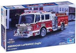 Пожарна кола - American LaFrance Eagle - Сглобяем модел -