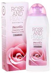 """Тоалетно мляко - От серията """"Rose and Pearl"""" - душ гел"""