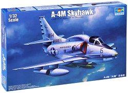 """Военен самолет - A4M """"Skyhawk"""" - Сглобяем авиомодел -"""