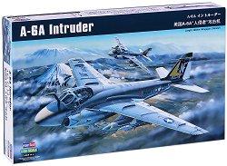 Американски изтребител - Grumman A-6A Intruder - Сглобяем авиомодел - макет