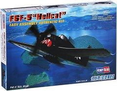"""Военен самолет - F6F-5 """"Hellcat"""" - Сглобяем авиомодел -"""
