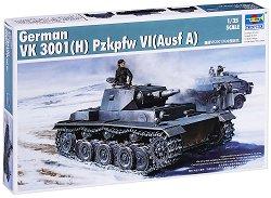 Германски тежък танк - VK 3001(H) PzKpfw VI (Ausf A) - Сглобяем модел -