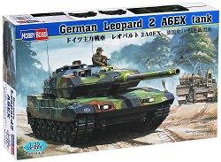 Немски танк - Leopard 2 A6EX - Сглобяем модел - макет