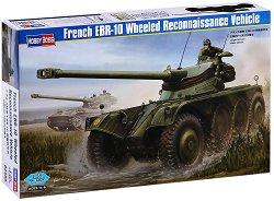 Френска разузнавателна машина - EBR-10 - Сглобяем модел - макет