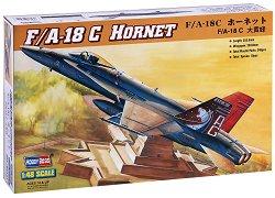 "Американски изтребител - McDonnell Douglas F/A-18C ""Hornet"" - Сглобяем авиомодел -"